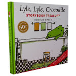 Lyle, Lyle, Crocodile Storybook Treasury鳄鱼莱尔珍藏故事集50周年纪念版4合1
