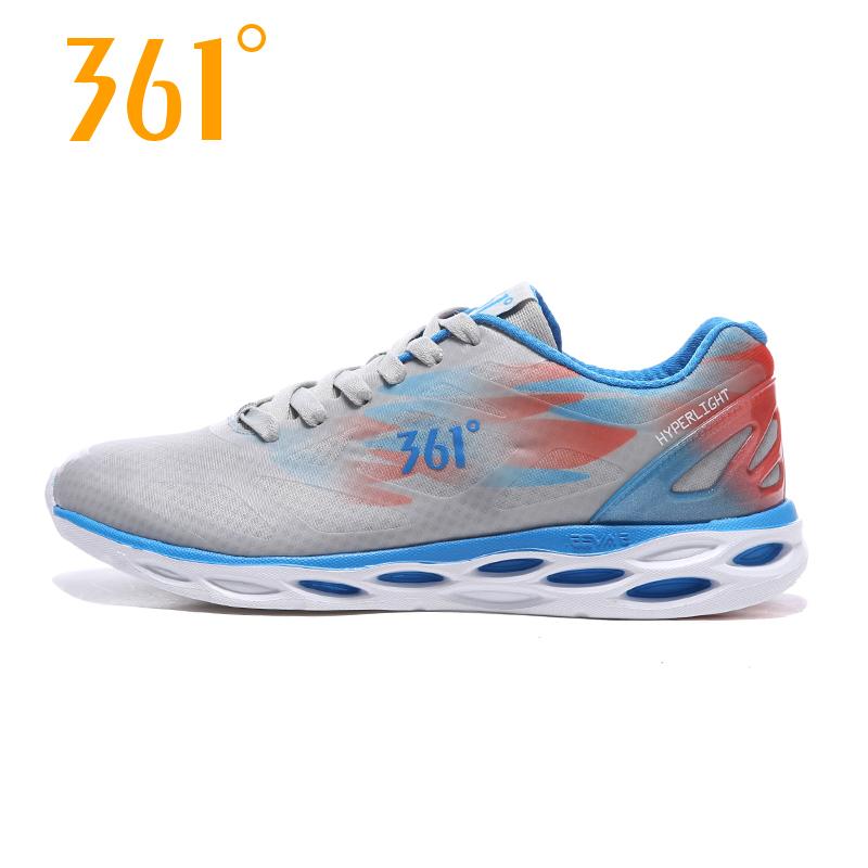 361度男鞋跑步鞋新款361网面透气减震轻便运动鞋跑鞋男
