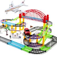 轨道车小火车电动3 4 5 6 7 8岁女男孩男童生日礼物儿童玩具