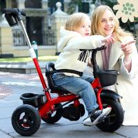 儿童三轮车幼儿童车宝宝脚踏车1-3-5岁小孩自行车婴儿手推车 k6n