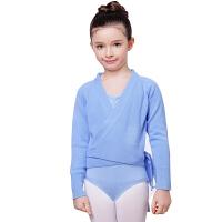 瑜伽用品秋冬季女童长袖加厚芭蕾毛衣外套舞蹈披肩儿童舞蹈服练功服瑜伽服