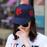 鸭舌帽子女韩版百搭棒球帽户外青年运动学生街头遮阳防晒休闲