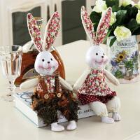 放在家里的装饰品吊脚娃娃米菲兔树脂摆件可爱小摆件婚庆礼物家居