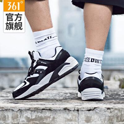361跑步鞋男缓震慢跑鞋秋季复古跑鞋运动鞋男潮款休闲鞋