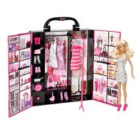 芭比(Barbie) 女孩娃娃玩具 梦幻衣橱(带娃娃) X4833