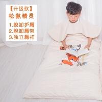 婴儿睡袋儿童防踢被春秋纯棉薄款秋冬加厚中大童宝宝睡袋四季通用