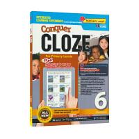 【首页抢券300-100】SAP Conquer Cloze 6 在线读物版 六年级攻克英语系列完型填空练习册 10岁