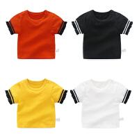 婴童装亲子装夏装2018新款潮套头衫全家装母子装男宝宝T恤