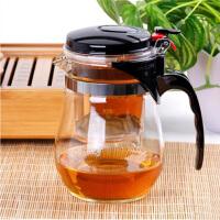 陶瓷故事玻璃茶具飘逸杯可拆洗内胆泡茶杯水杯茶壶办公杯800mlA Q6305-1   款式随机