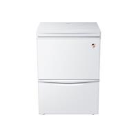 Haier 海尔 LW-120HCD 立式小冰柜上冷藏冷冻转换下冷冻 立卧式冷柜