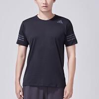 adidas阿迪达斯男子短袖T恤2018新款跑步训练健身运动服CW3927
