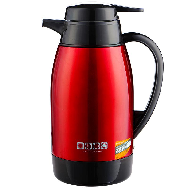 嘉特保温壶不锈钢玻璃内胆热水瓶保温瓶家用热水壶 GTH3101    1300ml/1000ml