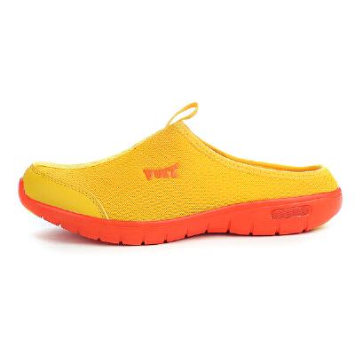 沃特休闲时尚运动跑鞋轻便透气跑步鞋男懒人鞋