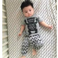 婴儿童内衣套装纯棉2男7女8宝宝5春秋衣服9睡衣0-1岁3个月春款夏