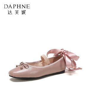 【达芙妮集团】鞋柜 春秋时尚休闲时尚女单鞋1117404317