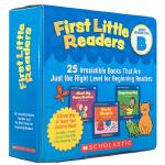 顺丰发货 英文原版进口绘本 First Little Readers Level B 25册 儿童启蒙阅读童书 图文故
