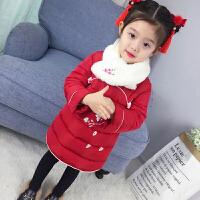 拜年服宝宝女汉服女童冬季唐装棉衣中国风儿童过年装