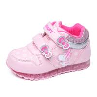 史努比女童棉鞋儿童运动鞋新款女宝宝鞋小童二棉保暖