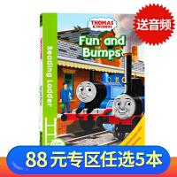 (88选5)托马斯和朋友们Thomas and Friends Fun and Bumps英文原版分级阅读入门级Read
