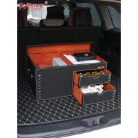 汽车后备箱储物尾箱整理收纳神器车载置物盒奔驰宝马车内用品行李