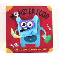 中图:MonsterFoodFingerPuppetBook