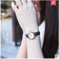 手表女中学生韩版简约小巧欧美休闲学生手表大气防水森系复古小表盘细皮带支持礼品卡支付