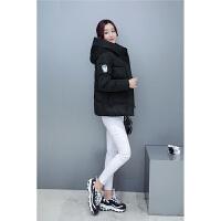 韩观韩版棉衣女短款时尚连帽修身羽绒大码小棉袄女装外套