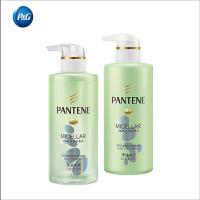 【宝洁】潘婷净油水润洗护套装 洗发水300ML+护发素300ML