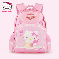 Hello Kitty凯蒂猫 KT1058粉红 凯蒂猫儿童书包女护脊小学生书包 当当自营