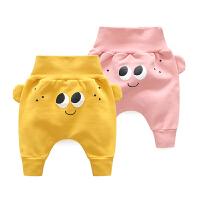 20180506060233615女童婴儿裤子秋装新生儿男宝宝秋季6个月男童外出潮款儿童长裤1岁