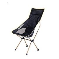 户外便携折叠椅航空铝合金加长靠背写生椅子 轻质露营沙滩椅钓鱼椅凳
