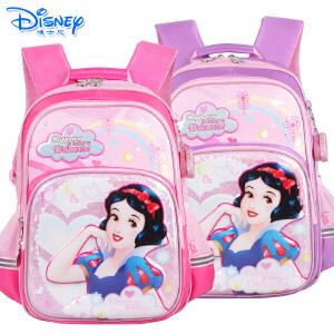 Disney迪士尼白雪公主女童书包小学生1-4年级双肩卡通书包PB0375