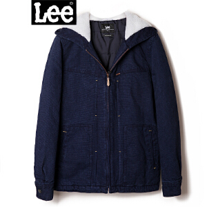 Lee商场同款17冬新品时尚潮流舒适男�b羽绒外套L295681BH6QD