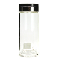 富光玻璃杯单层男士加厚茶杯办公家用水杯商务杯(不带茶隔)258-350/280ML