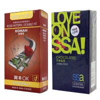[当当自营]冈本 避孕套 浪漫10只装+SSA 避孕套 芳香型-巧克力12只装 成人用品 安全套 计生用品(进口)