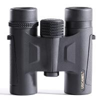 双筒望远镜高倍高清夜视特种兵迷你观星户外装备 UW083 10X26黑色