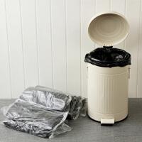【满减】欧润哲 12L垃圾桶清洁塑料袋 大号垃圾袋黑色背心式收纳袋子 200/400只装