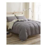 床上床笠式四件套纯色双人单人学生被套床单三件套宿舍床品套件