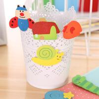 幼儿园教学用品卡通木质冰箱贴儿童益智文具韩国可爱创意小礼品(不可选颜色)