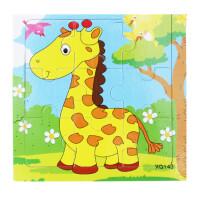 幼儿童拼图玩具木质积木拼插板动画人物宝宝礼物