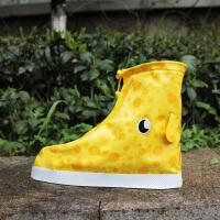 鞋套防水雨天家用耐磨防滑儿童雨鞋长高筒套脚男女可爱雨鞋