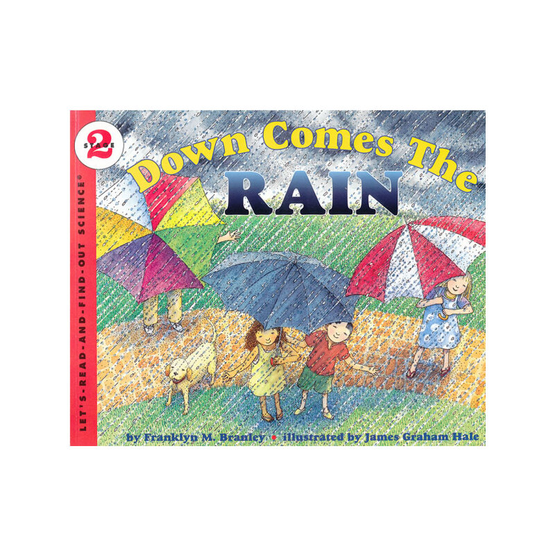 Down Comes the Rain (Let's Read and Find Out)  自然科学启蒙2:雨是哪里来的ISBN9780064451666