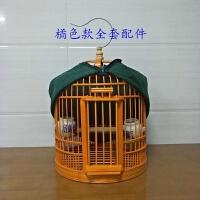 竹制贵州画眉鸟笼自制八哥鸟笼四川鸟笼子云南笼鸟笼装饰配件