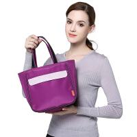 V-Coool妈咪包 休闲妈咪袋妈咪包手拎包便携小包 优雅紫