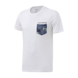 Converse匡威男装2018夏季透气圆领运动休闲短袖T恤10003648