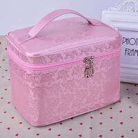 大号旅行大容量少女心化妆包社会女化妆箱便携简约收纳包收纳