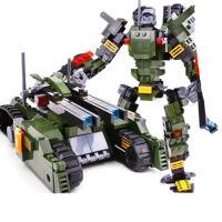 积木兼容乐高男孩益智拼装变形机器人6金刚7擎天柱8玩具9岁10