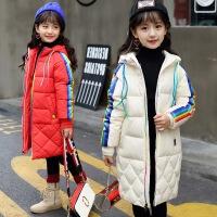 20180323130437098女童棉衣新款公主加厚羽绒棉儿童韩国棉袄中长款冬季外套