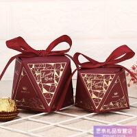创意礼盒钻石糖盒结婚礼婚庆喜糖盒子喜糖袋糖果盒婚庆用品 酒