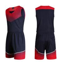 篮球服套装男 定制篮球衣运动套装光板训练比赛队服印号